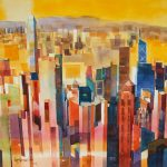 Affinity-for-ART_LAM-Siong-Onn_4-Cityscape-Downtown-Hong-Kong_2013_Watercolour-on-Arches-Paper_56-x-76-cm