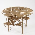 C-Lalanne-Table-Lotus-et-Singe-Ronde-en-Bronze-2007_2012-2