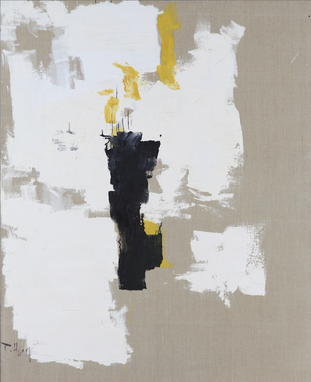 Huang-Rui_White-Abstraction_oil-on-canvas_160-x-137_1995