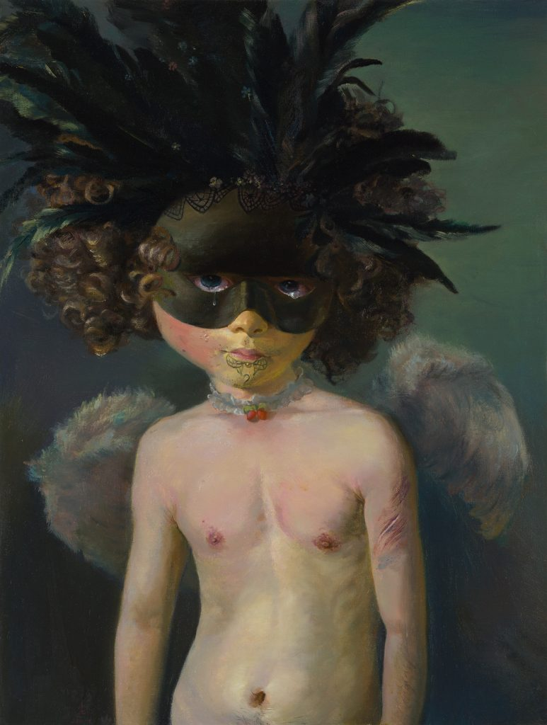 s Chen Hui, The Pearl, Oil on canvas, 75 x 57cm, 2011