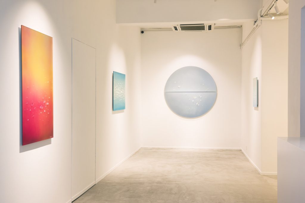 """Installation View of exhibition """"Breathing of Light"""""""