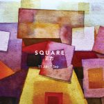 An exploration by six contemporary artists on the square shape in media forms from watercolours to oils, acrylic, and paper and marble sculptures.