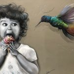 Givres+mural+child+++hummingbird