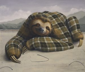 Landers - Three-Toed Sloth - 2014 (LAND00003)