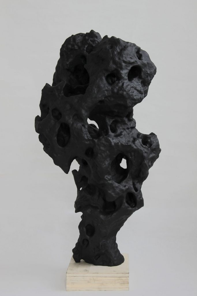 Zhang Jian-Jun, ink rock sculpture 7.19