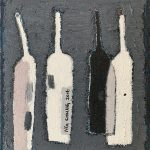 Ng Chung 吳松, Bottle 388 瓶子388, Oil on canvas 布面油畫, 50 x 40 cm, 2016