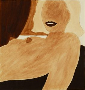Tom Wesselmann, Study for Great American Nude, 1965, Graphite on paper, 33.3 x 30.7cm